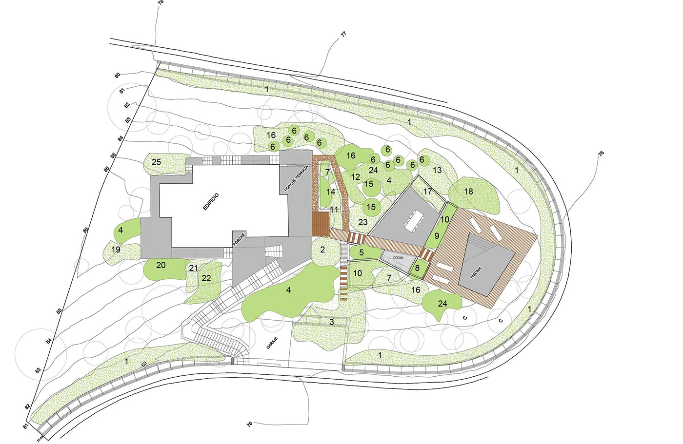 Tossa de Mar site plan