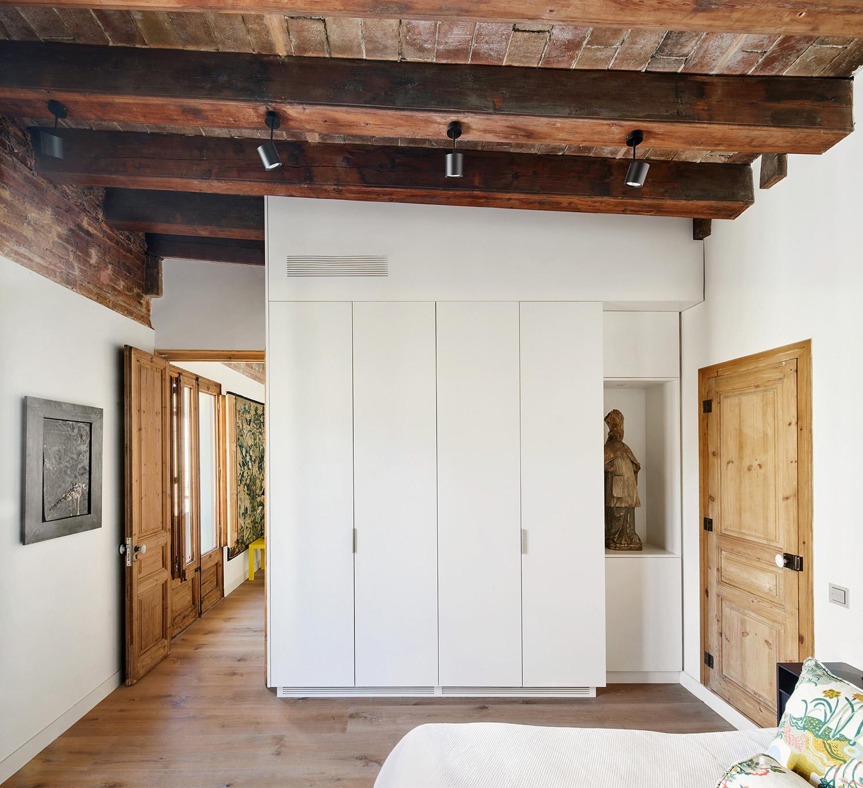Ático Ciutat Vella apartment renovation Barcelona