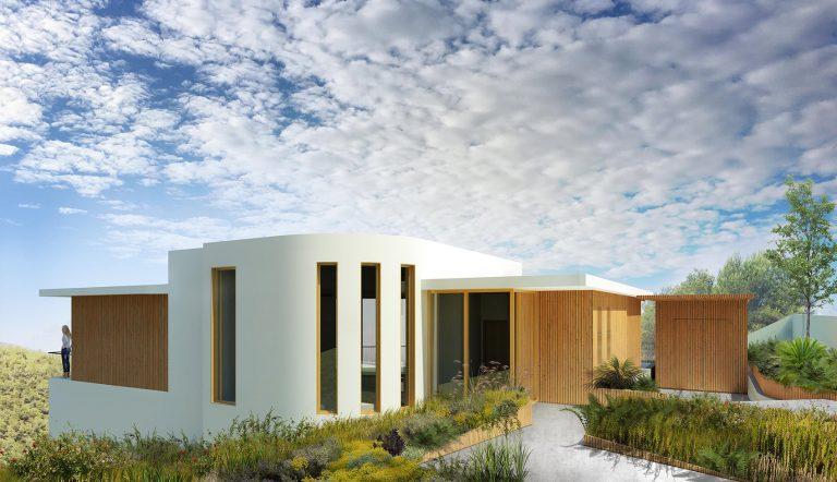 Villa Sachs sculptural house in spain