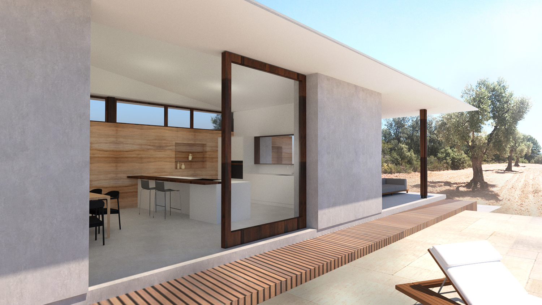 House Matarraña exterior view