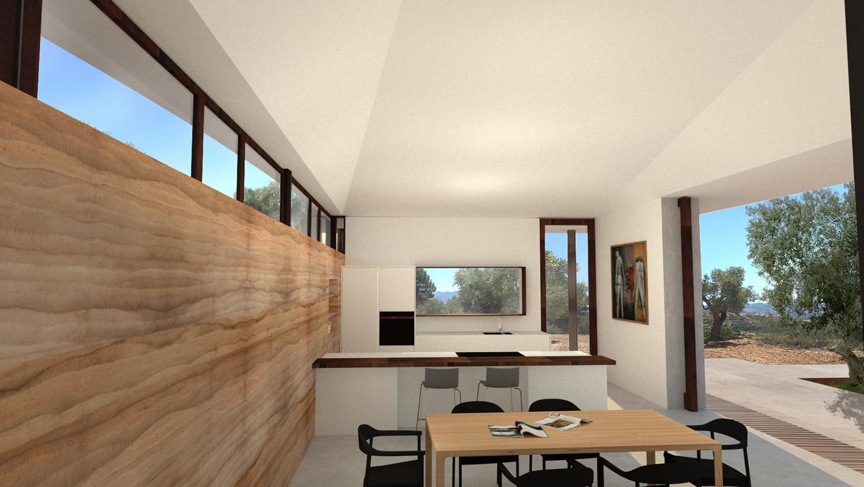 House Matarraña kitchen