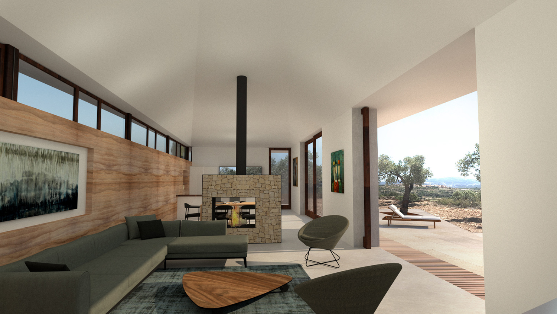 House Matarraña lounge