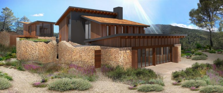 Querol modern traditional home