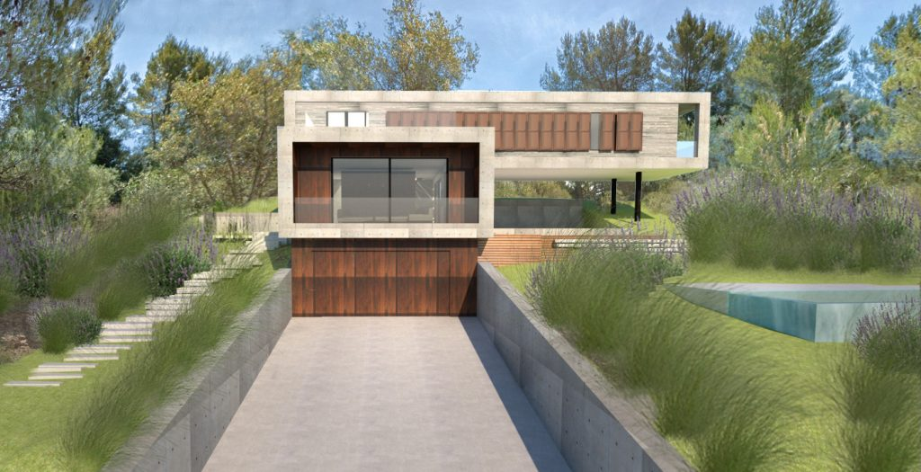 mallorca new-build house