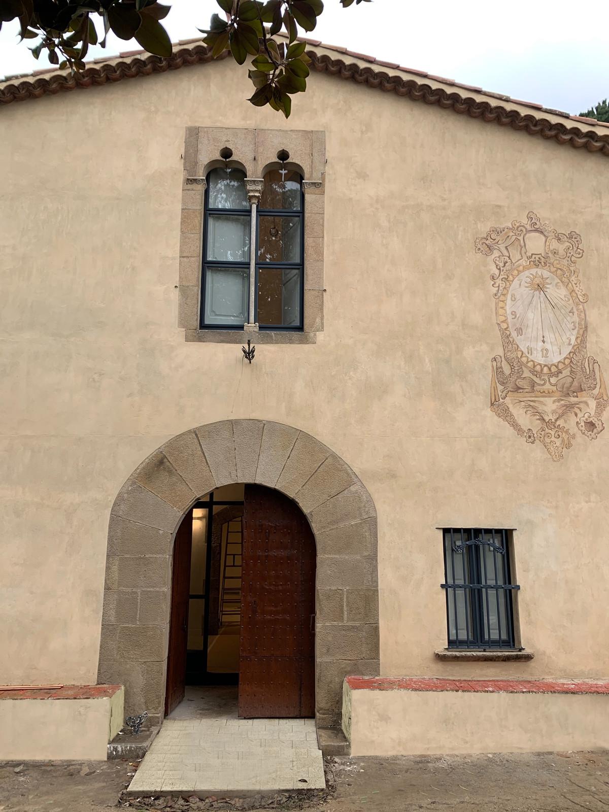 historic entrance facade