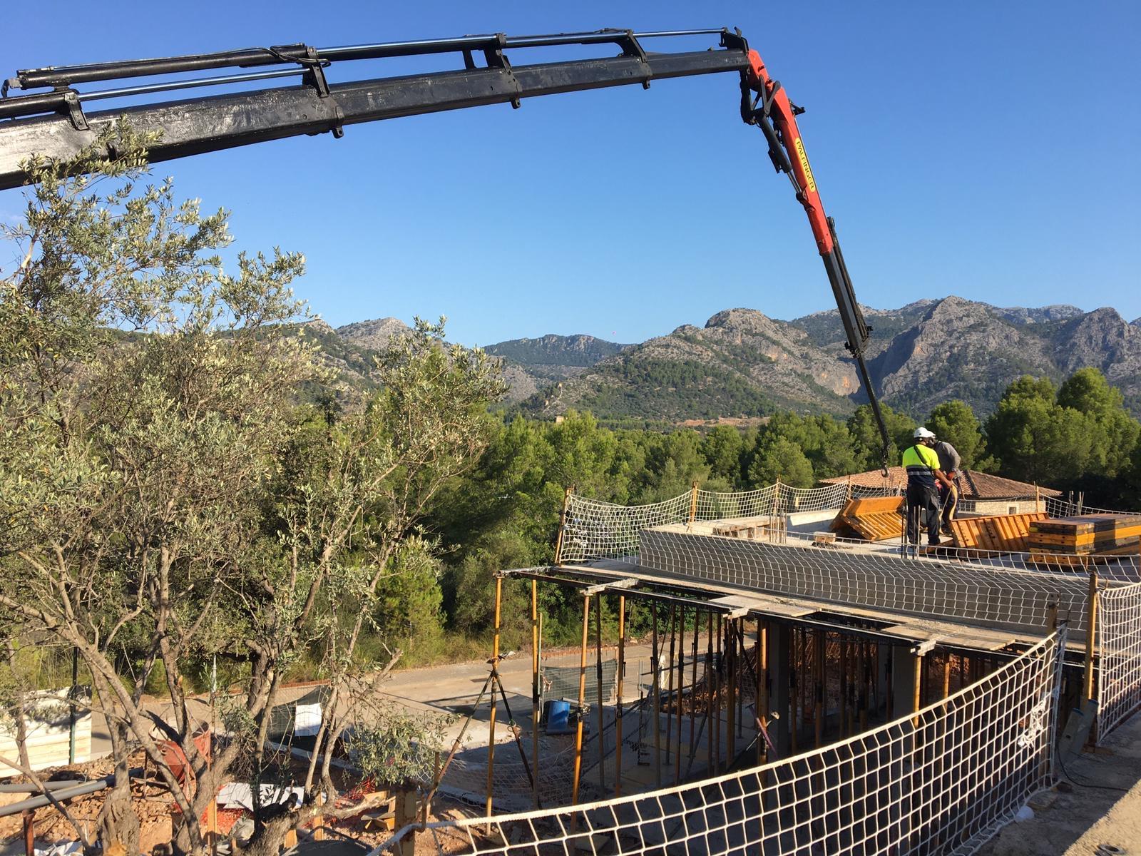 evolución de la vivienda de obra nueva en Mallorca con vistas a las Serra de Tramuntana