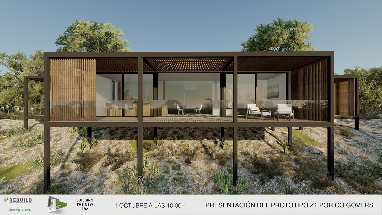 Prototipo Z1 casa pasiva prefabricada_ Zest Architecture